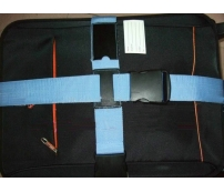 Cross luggage strap